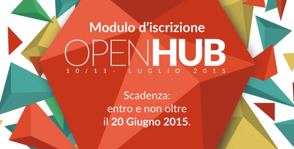 Banner prenotazione OpenHub